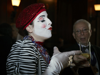Dinner Dance 150th Anniversay Gala Mime