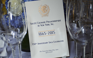 150th Anniversary Gala of the Soci�te Culinaire Philanthropique
